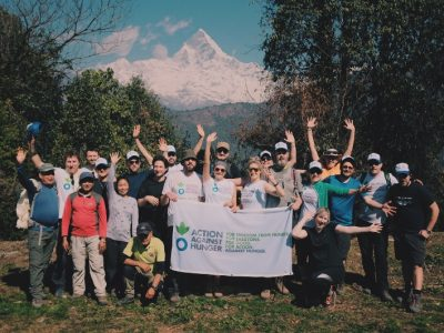 Nepal Trek with Action Against Hunger