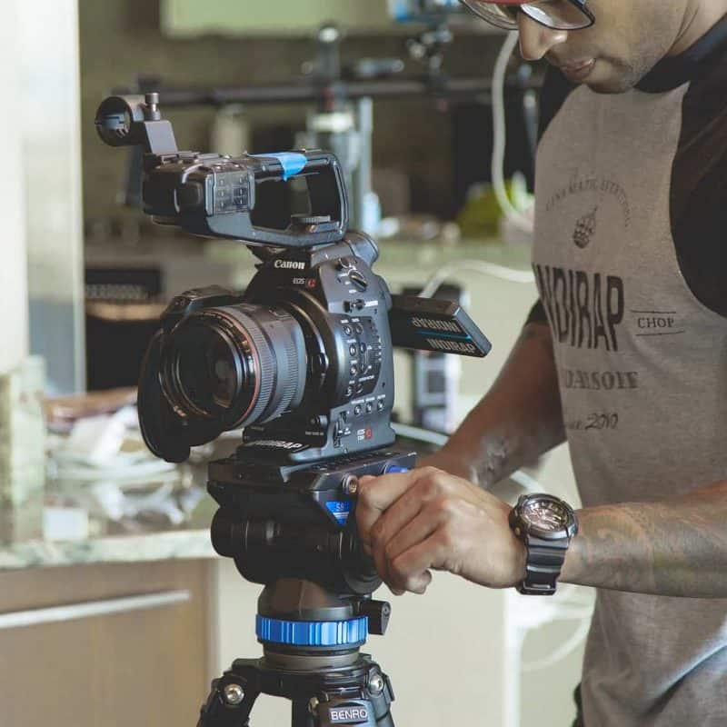 Production. The part of the video production process where we capture the material
