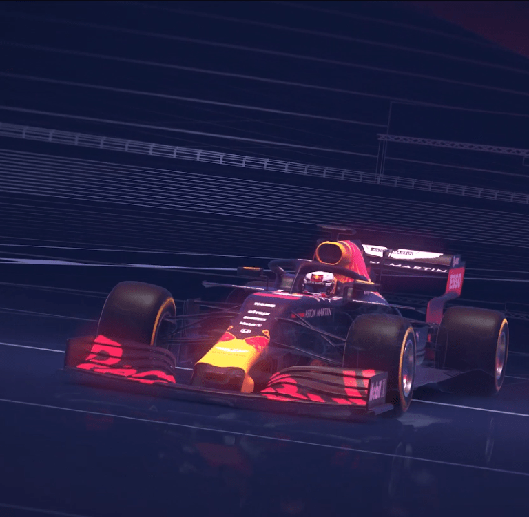 Red Bull Racing Animation